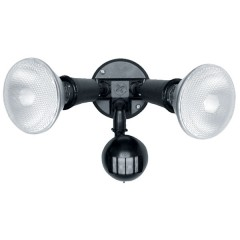 55-006 Twin Spot Sensor With 20W Cfl Lamp (Black)