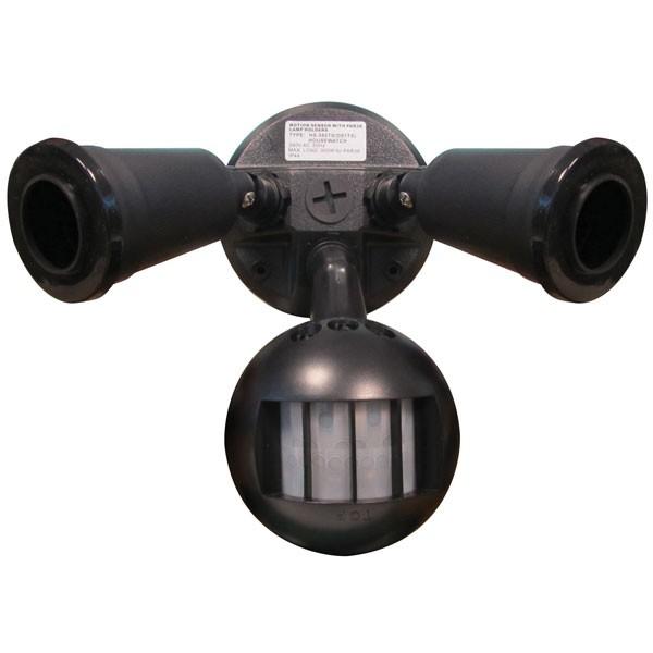 55-023 Twin Spot Sensor E27 (Black)