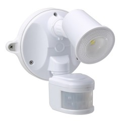 55-151 LED Spotlight 10W With Motion Sensor (White)