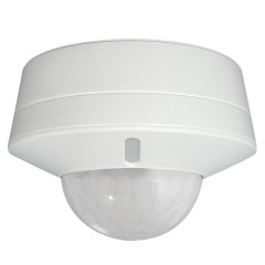 55-464 360 Degree Surface Mount Presence Detector for Lighting Automation Indoor/Outdoor