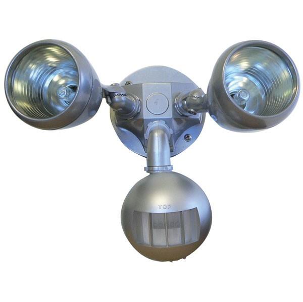 55-129 Twin Halogen Sensor G9 (Silver)