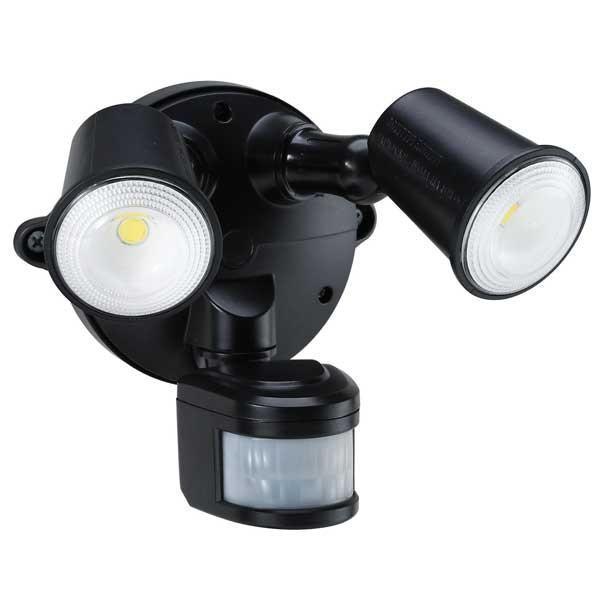 55-156 Led Spotlight 20W With Motion Sensor (Black)